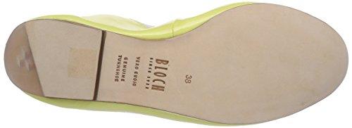 Bloch Luxury Ballet Flat BL 483, Ballerines - femme Jaune - Gelb (SUN)