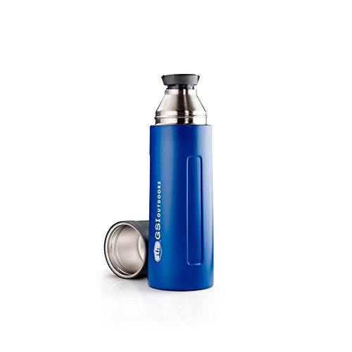 GSI Outdoors 67462. Thermosflasche, blau, 1Liter -