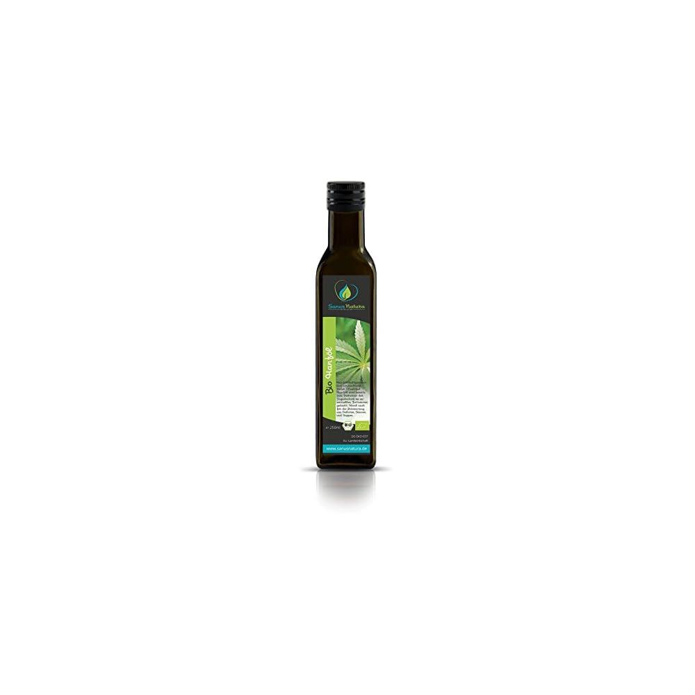 Sanus Natura Bio Hanfl 250ml Glasflasche