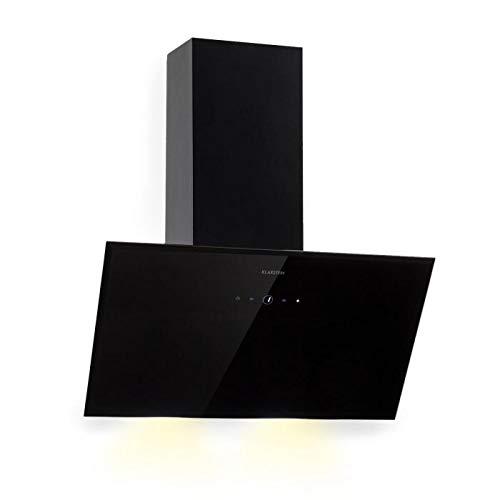 Klarstein Laurel 60 Black Edition - Extractor de humos, Campana extractora de...