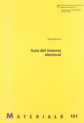 Guia del sistema electoral (Materials)