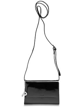 Picard Auguri 4021 schwarz-lack , Leder Abendtasche , Clutch , Schultertasche , Handgelenktasche , Umhängetasche...