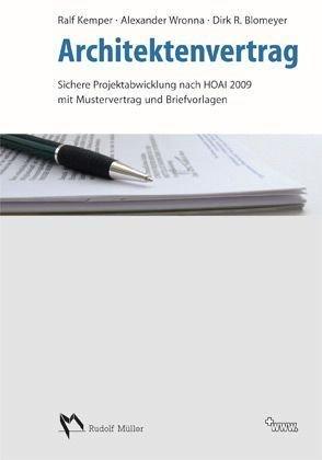 Download Architektenvertrag Mit Musterverträgen Und Briefvorlagen