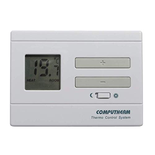COMPUTHERM Q3 digitaler Raumthermostat, Wand-Thermostat mit Thermometer für Heizung, Klimaanlagen & Fußbodenheizung, Raum-Temperaturregler & -messer -