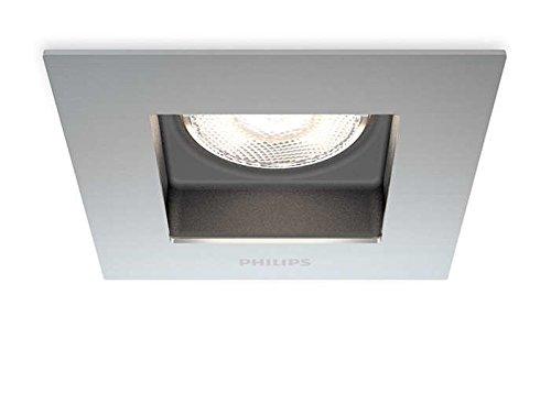 Philips myLiving Porrima - Foco empotrable, iluminación interior, LED, luz blanca cálida,...