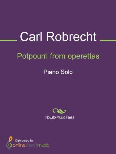 Potpourri from operettas - Piano (English Edition)