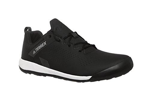 adidas Herren Terrex Trail Cross Curb Mountainbike Schuhe, Schwarz (Cblack/Greone Cblack/Cblack/Greone), 46 EU