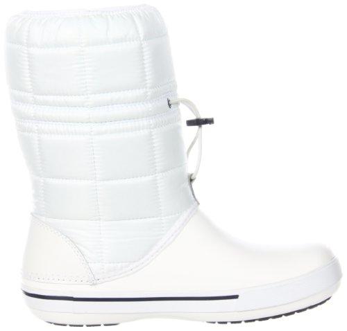 Crocs Crocbandtm II.5 Winter Boot Women, Boots femme Blanc (White/Navy)