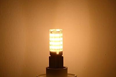 Ascher® 10er-Pack G9 5W 51 LED Lampe SMD 2835 (vgl. 30W Halogen) [350LM, Warmweiß 2800K , AC 220-240V, 360º Abstrahlwinkel,Warm-Weiß]