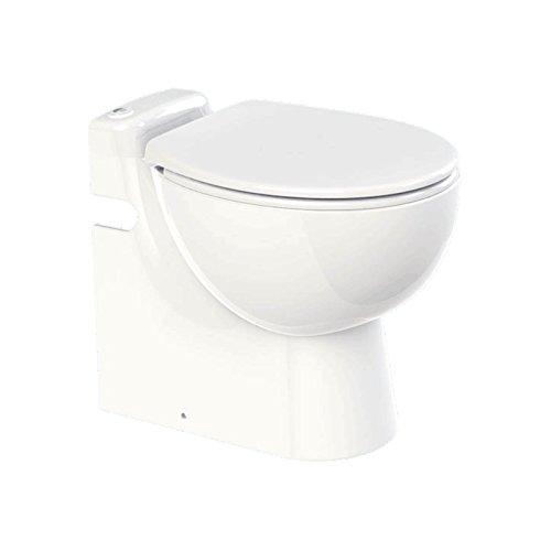 SFA Lomac Gestolette 1010 Keramik Stand WC Toilette mit eingebauter Hebeanlage