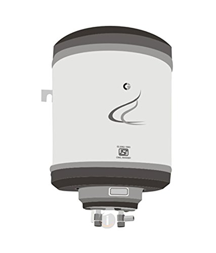 Crompton  15-Litre Metal Body SWH315E Vertical Water Heater (Ivory)