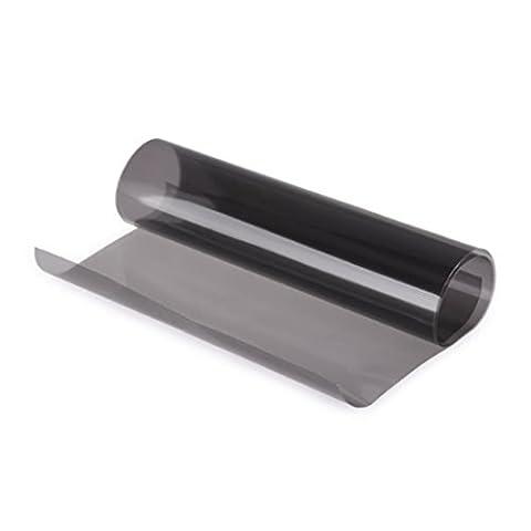 fumé brouillard queue Film teinté en vinyle pour phares 30,5x 61cm Sticker Autocollant pour voiture pour feuille Film de protection