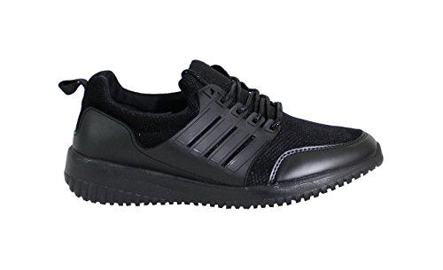By Shoes Damen Sneakers Schwarz