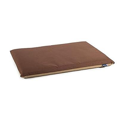 ANCOL Impermeable Soporte de Pad Cama para Perro, 122x 76cm, Azul/Gris