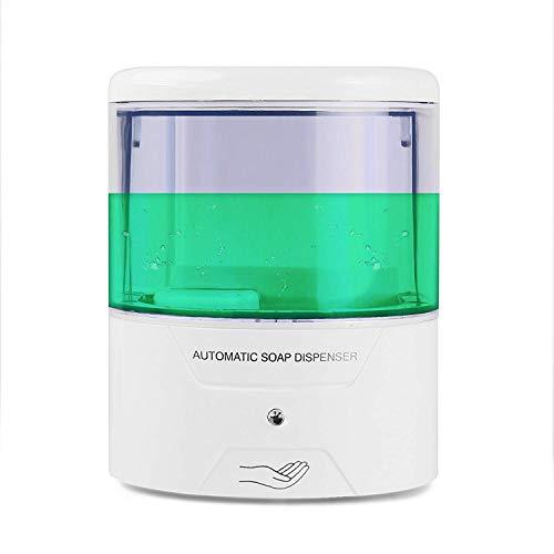 Seifenspender Wandmontage Automatische IR Sensor Seifenspender Automatische Berührungslose zinntheken Seifenspender batteriebetrieben (600ml-9030)