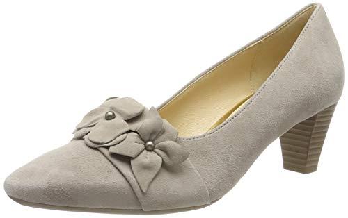 Gabor Shoes Basic, Scarpe con Tacco Donna, Marrone (Visone 12), 44 EU