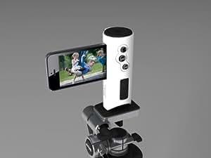 System-S Kamera Foto Video Griff Halter Halterung Stativ Adapter Shutter Grip Tripod Adapter für iPhone 4 4S 5