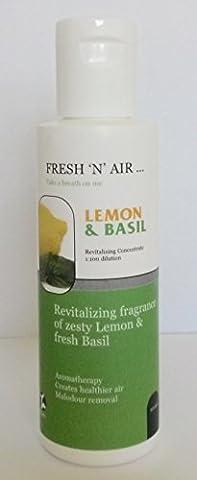 LEMON & BASIL FRAGRANCE ESSENCE (100ML) FOR AIR PURIFIERS - FRESH 'N' AIR