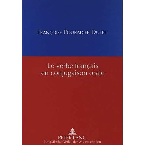 Le verbe français en conjugaison orale