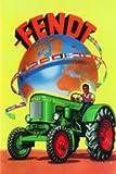 Fendt Traktoren Weltkugel Blechschild 20x30 cm Sign Blechschilder Schild Schilder