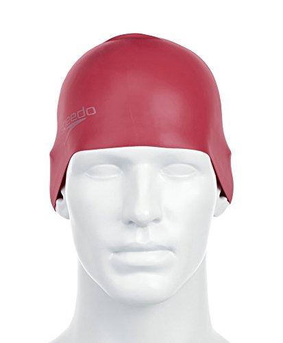 Speedo-Adult-Plain-Moulded-Silicone-Swim-Cap