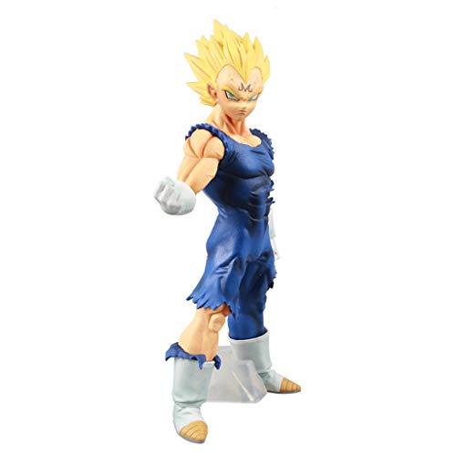 LLKOZZ Dragon Ball Z Vegeta Colección Estatua Modelo Juguetes Mejor Regalo PVC Exquisito Anime Decoración -25CM Juguete