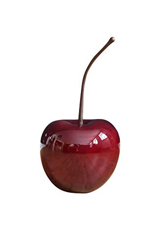 Deko Obst Deko Kirsche aus Fiberglas 72x38x33 cm, Rot Hochglanz