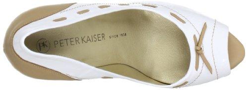 Peter Kaiser PALLIA 79709-678 Damen Pumps Weiß (WEISS CRAKLE CAMEL CORTI STEPP 678)