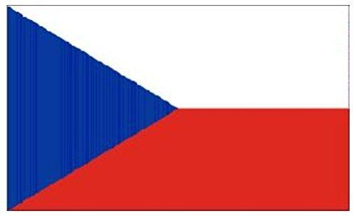 k Flagge 5ft x 3ft (Tschechische Republik Kostüm)