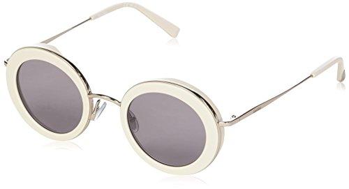 Max Mara Damen MM Eileen IR 10A 46 Sonnenbrille, (BEIGE/Grey Bluee)