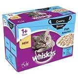 MARS Whiskas 1+ paquete de sopa de pescado 12pk 85 g de 1
