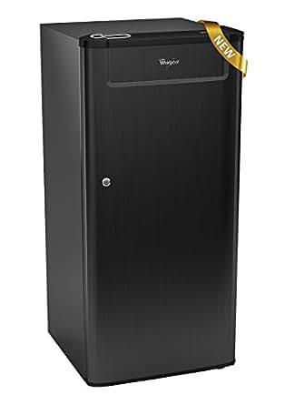 Whirlpool 190 L 4 Star Direct-Cool Single Door Refrigerator (205 Genius Cls Plus 4S, Black Titanium)