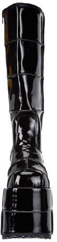 Demonia Stack-301, Bottes Homme Noir (schwarz)
