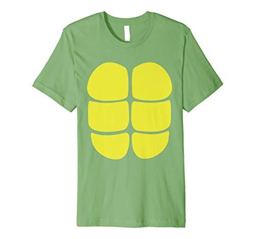 Schildkröte T-Shirt Kostüm Verkleidung Halloween Karneval