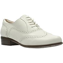 Clarks Hamble Oak - Zapatos de Cordones de Piel para Mujer