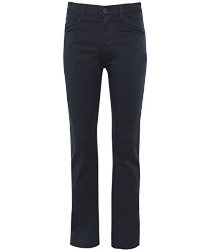 Emporio armani uomo j45 slim fit jeans 50 regolari catrame