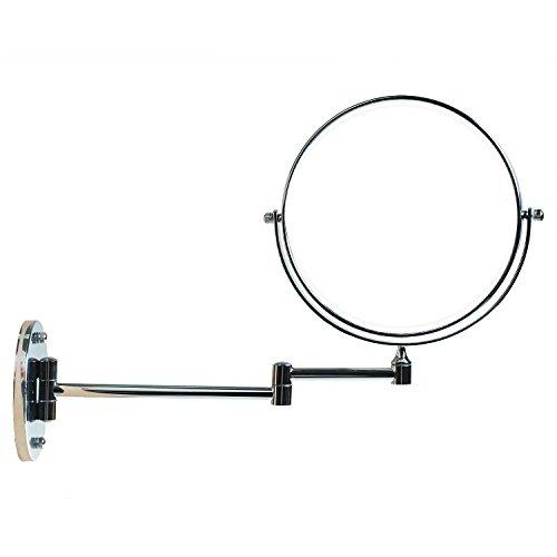 TUKA Kosmetikspiegel Wandspiegel 10 fach Vergrößerung, 8 inch Schminkspiegel Wandmontage mit /...