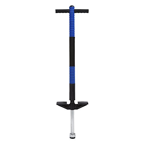 Pogo Stick für Kinder Einzelne Bar Springstock Kinder Spielzeug für Sport und Spaß (Blau) (Pogo Stick Grün)