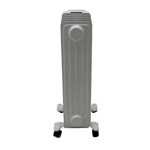31ibC8onYnL. SS500  - Oypla 1000W 5 Fin Portable Oil Filled Radiator Electric Heater