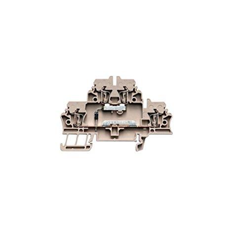 Weidmüller Klemme mit Einbau ZDK 2.5/D/2 Bauelement-Reihenklemme 4008190877903