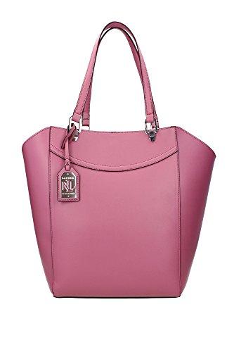 Borse Shopping Ralph Lauren Donna Poliuretano Rosa Scuro e Argento N91L3585YL041A6LA8 Rosa 10.5x25x30 cm