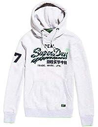 Superdry Vintage Logo Neon Tip Hood, Sudadera para Hombre