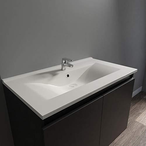 UneSalleDeBain Plan Simple Vasque céramique CÉRAPLAN - 80 cm