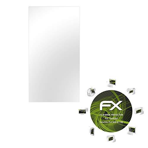 atFolix Displayfolie kompatibel mit Toshiba Satellite Pro A30-D-10E Spiegelfolie, Spiegeleffekt FX Schutzfolie
