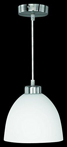 Lampada Da Soffitto Design Classico Vetro Cromo Diametro 20cm