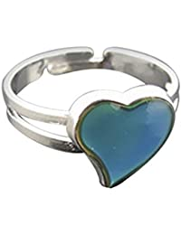 Damen Ring Mood Ring Stimmungsring Fingerring