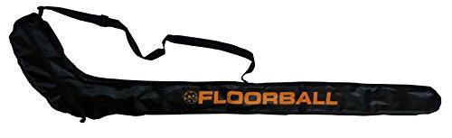 Floorball / Unihockey Schlägertasche STRIKER, schwarz/orange für 1-2 Schläger
