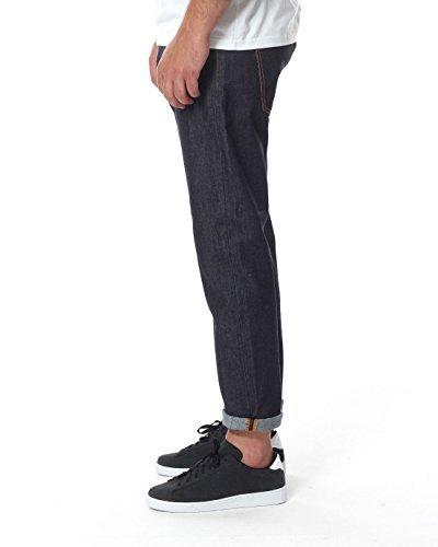 Nudie Jeans Unisex Jeans Brute Knut Blu (Dry Navy COMFORT)