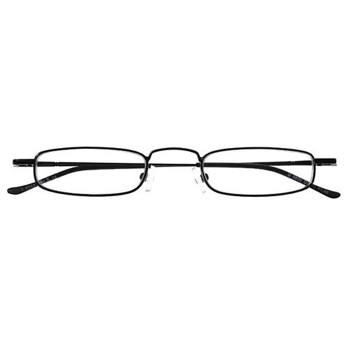 I NEED YOU Lesebrille David / +2.00 Dioptrien / Schwarz