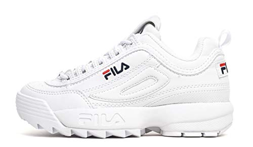 Fila Disruptor Low 1010262-1fg, Scarpe da Ginnastica Basse Uomo, Bianco (White 1fg), 43 EU